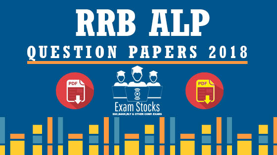 RAILWAY ALP & TECHNICIANS 2018 QUESTION PAPER WITH ANSWER KEY PDF DOWNLOAD