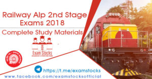 Railway ALP Stage 2 Exams 2018 Complete Study Materials