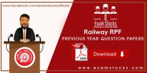 Railway RPF Previous Year Question Papers In English & Hindi