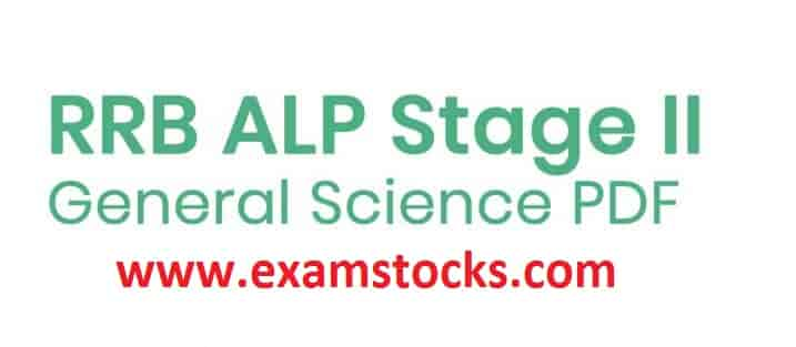 Download ALP Stage II 100+ General Science Questions Answer PDF