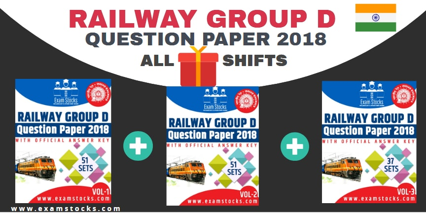 Railway Group D Question Paper 2018 All Shifts Pdf Download