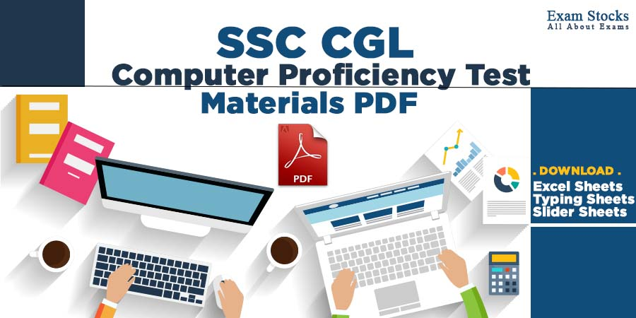 SSC CGL Computer Proficiency Test Materials PDF