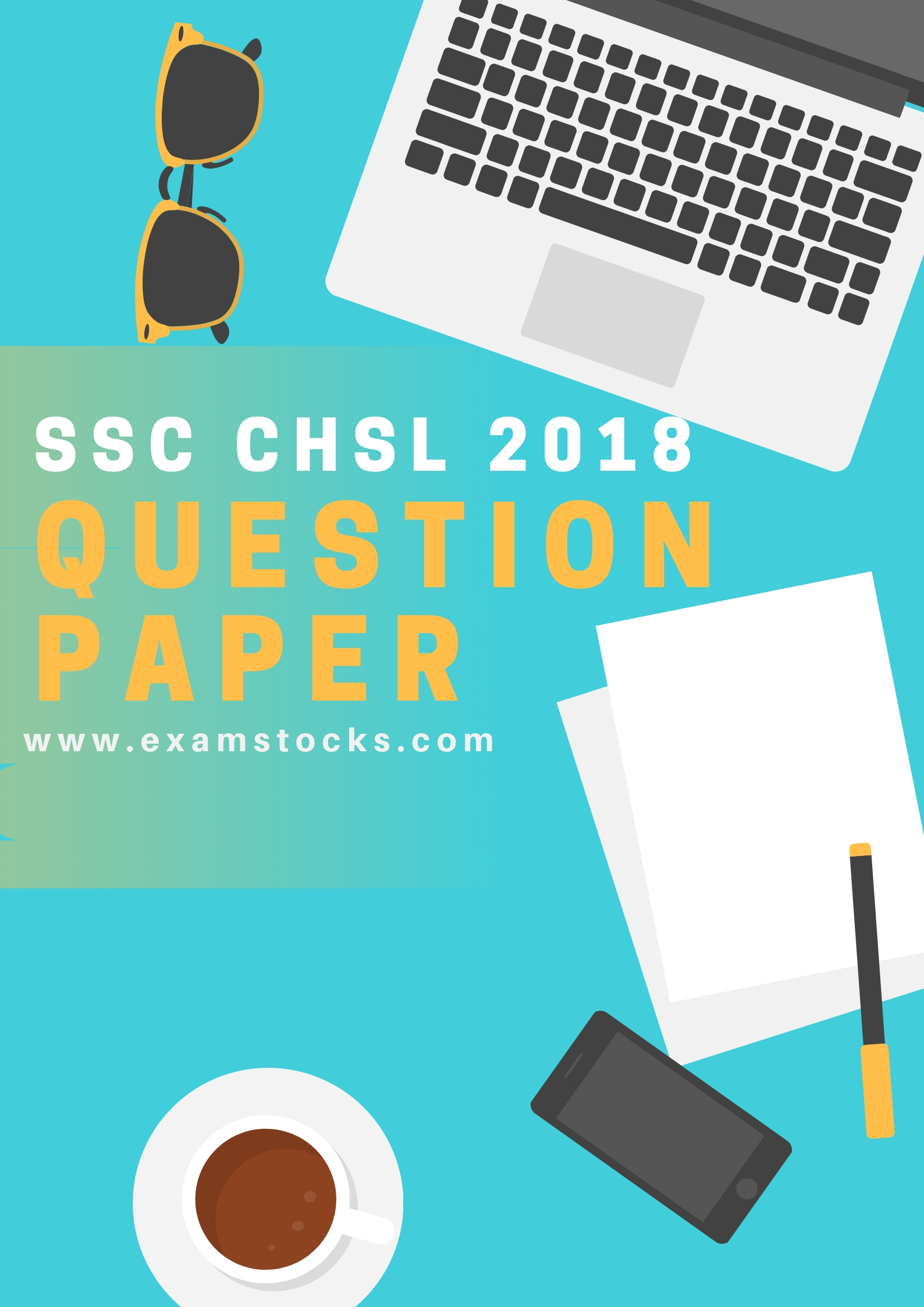 SSC CHSL Question Paper 2018 PDF
