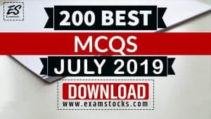 Best 200+ JULY 2019 Current Affairs PDF Download