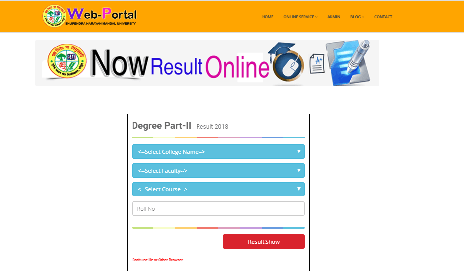 BNMU Part 2 Result 2019 Out Check Here