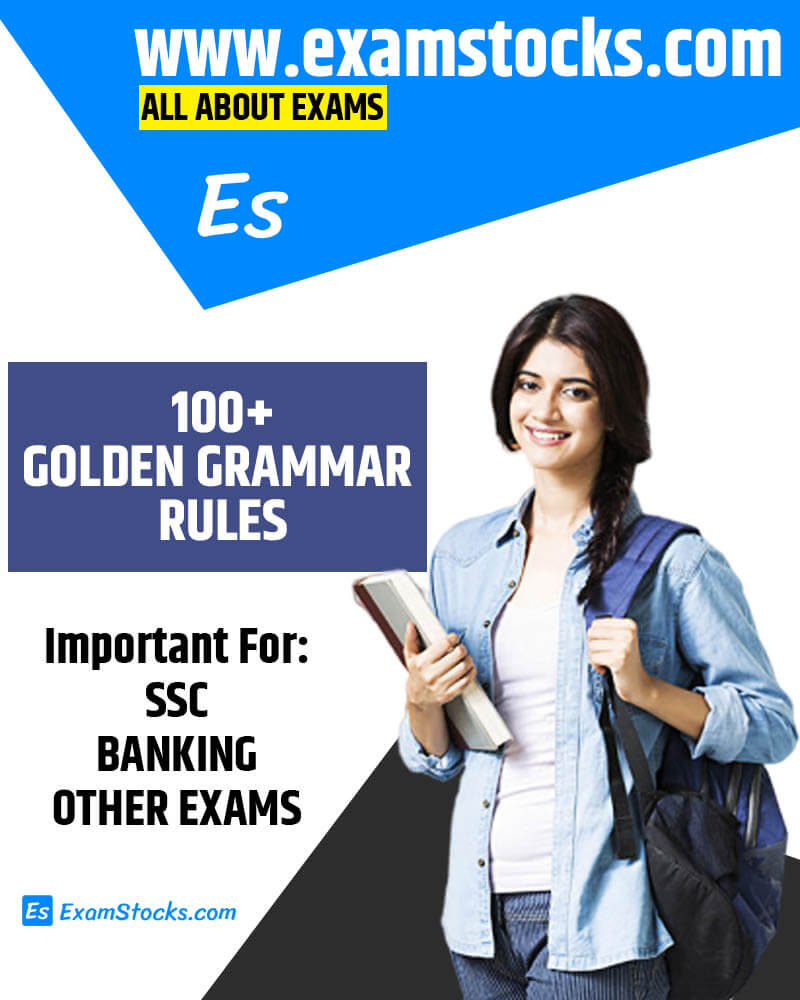 100+ Golden Rules Of English Grammar PDF Download