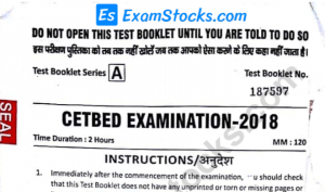 Bihar B.Ed CET Previous Year Question Papers PDF