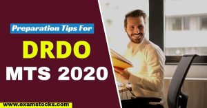 How To Prepare For DRDO MTS Exam 2020