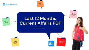 Last 12 Months Current Affairs 2020 PDF Download