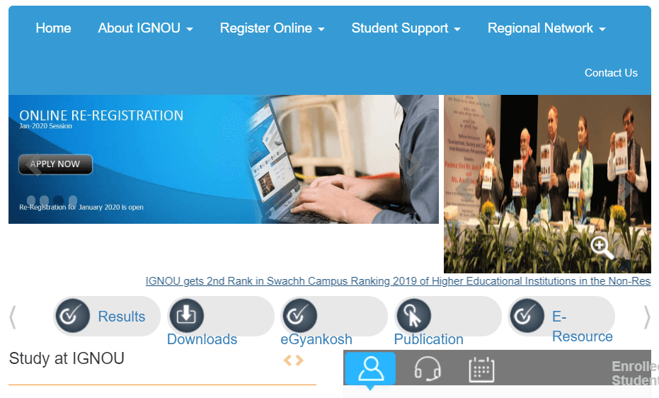 IGNOU TEE Form Filling Process Started For June 2020