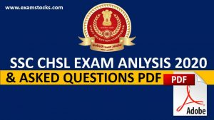 SSC CHSL Exam Analysis 2020 17th March All Shifts Questions PDF