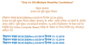 Bihar Amin Recruitment 2020: Apply Online Link Re-Activated For 1767 Vacancies