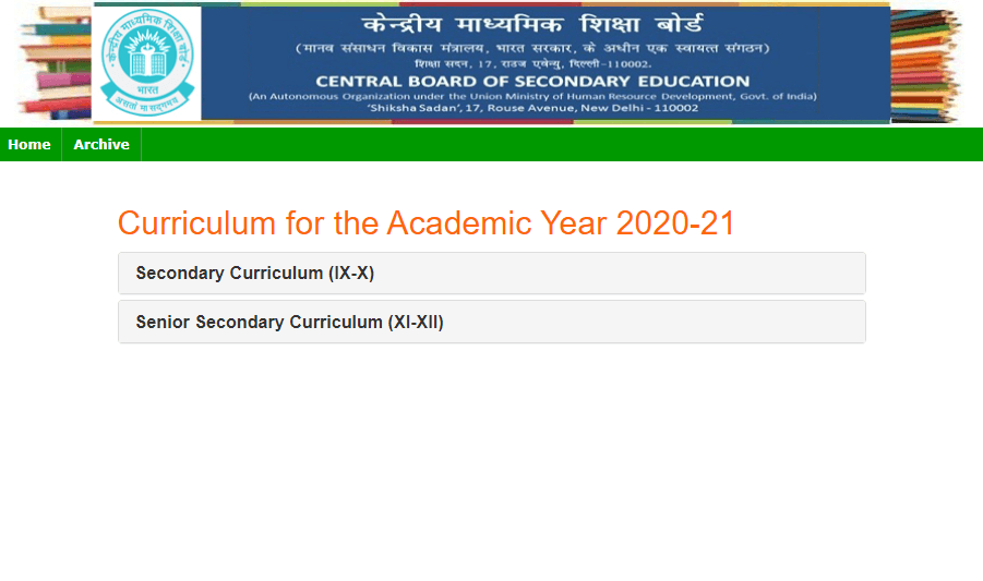 CBSE Syllabus 2020-21 PDF For Classes 9th, 10th, 11th & 12th Released