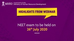 JEE Mains, Advanced & NEET Exam Dates 2020 Announced