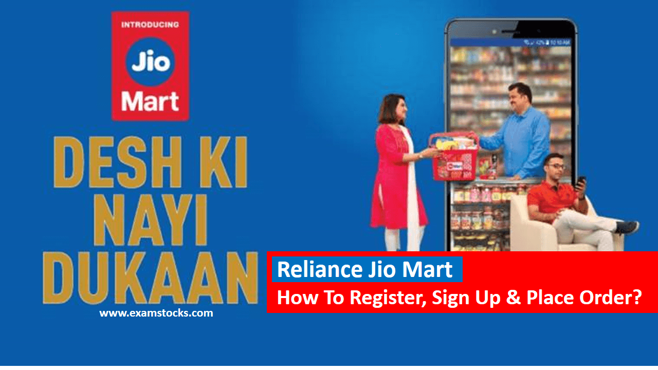 Reliance Jio Mart Registration How To Sign Up & Place Order?