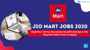Reliance Jio Mart Jobs 2020 How To Apply Online For JioMart Vacancy?