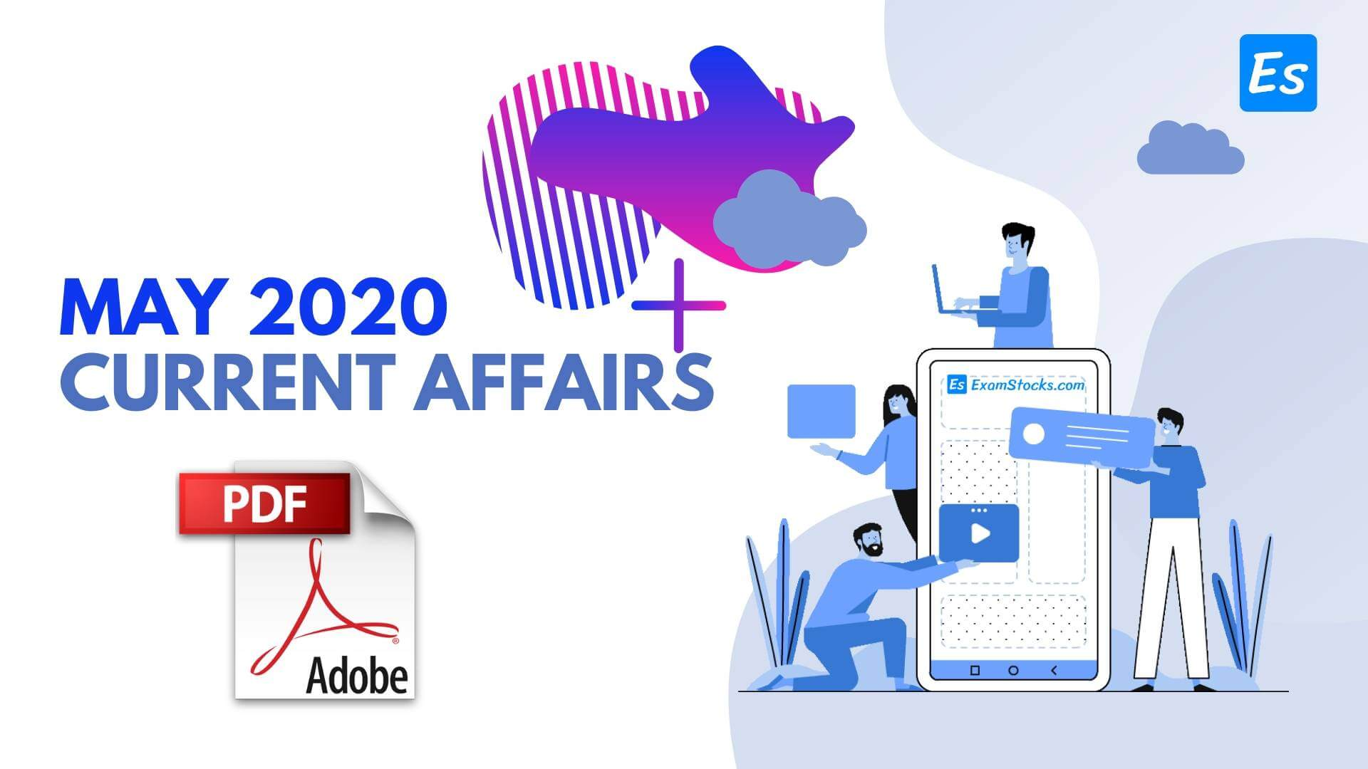 300+ Best May 2020 Current Affairs PDF In Hindi & English
