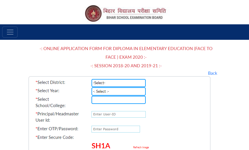 Bihar D.El.Ed 2020 Application Form & Process Started Check Dates