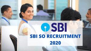 SBI SO Recruitment 2020 Apply Online For 400+ Vacancies