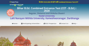 Bihar B.Ed Entrance Test Admit Card 2020- Download Now