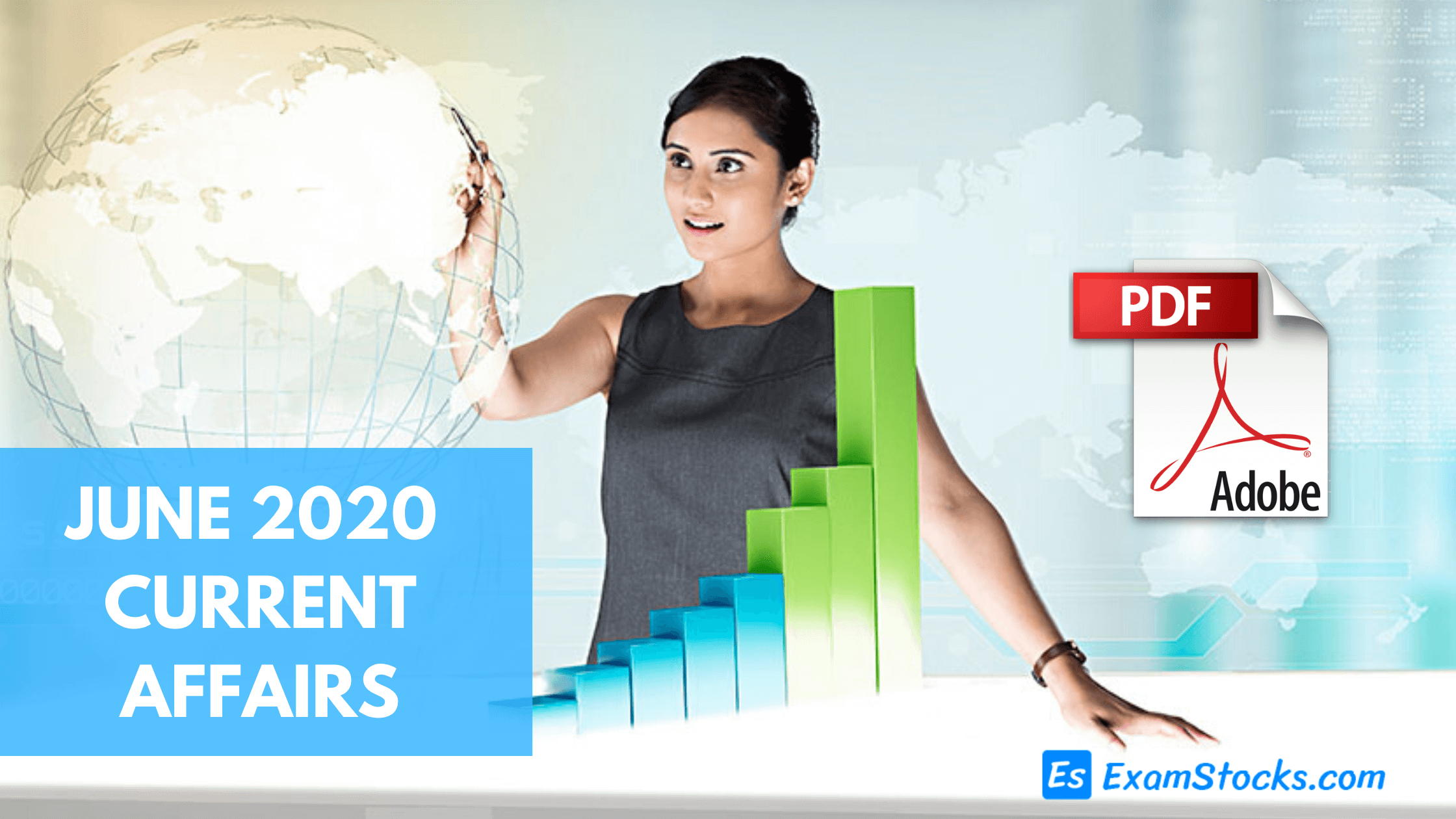300+ Best June 2020 Current Affairs PDF For All Exams