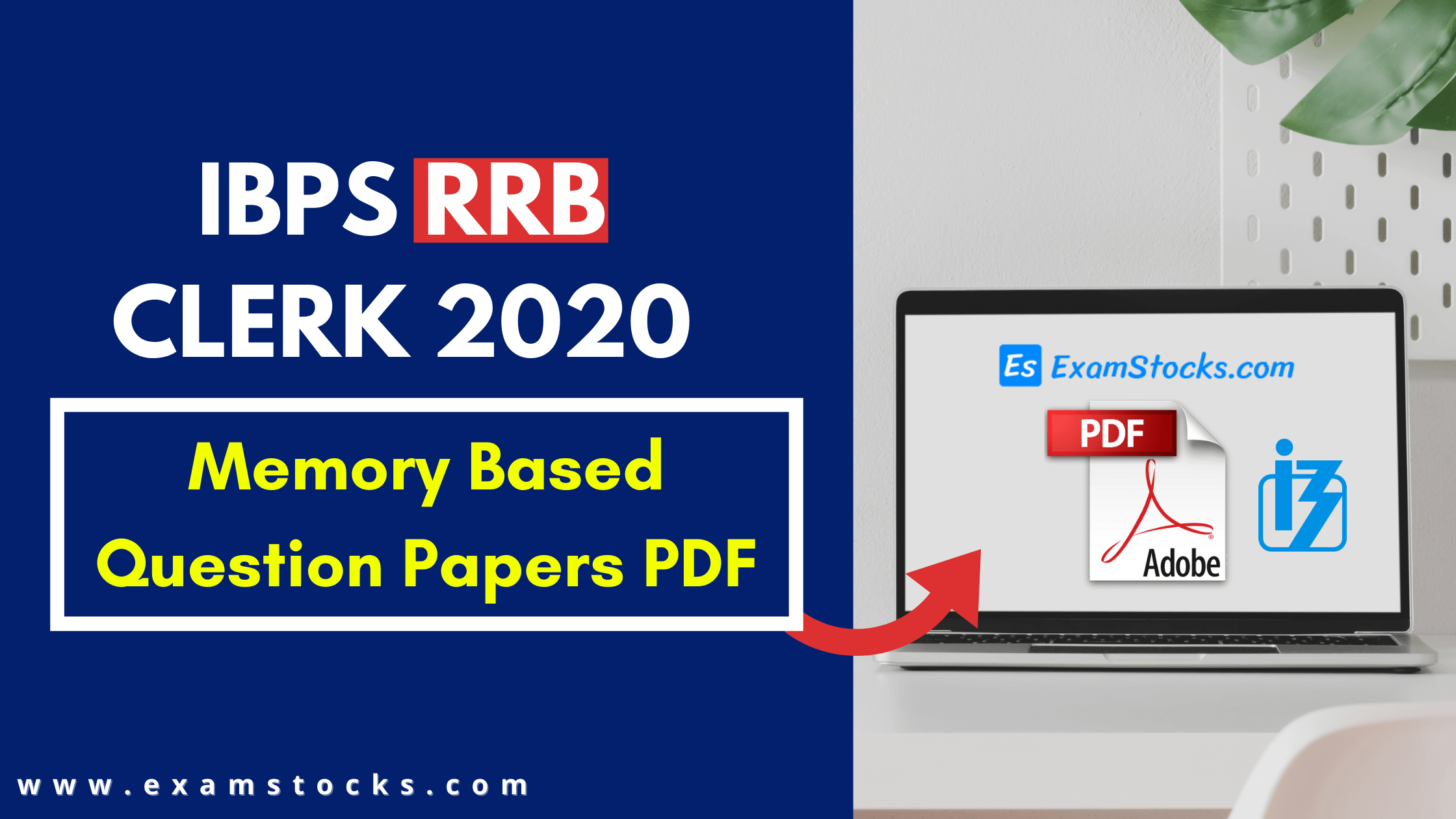 IBPS RRB Clerk 2020 Memory Based Question Papers PDF