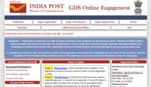 North East Postal Circle GDS Recruitment 2020 Last Date Extended