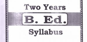 Bihar B.Ed 2 Year Syllabus PDF – Download B.Ed Syllabus Here