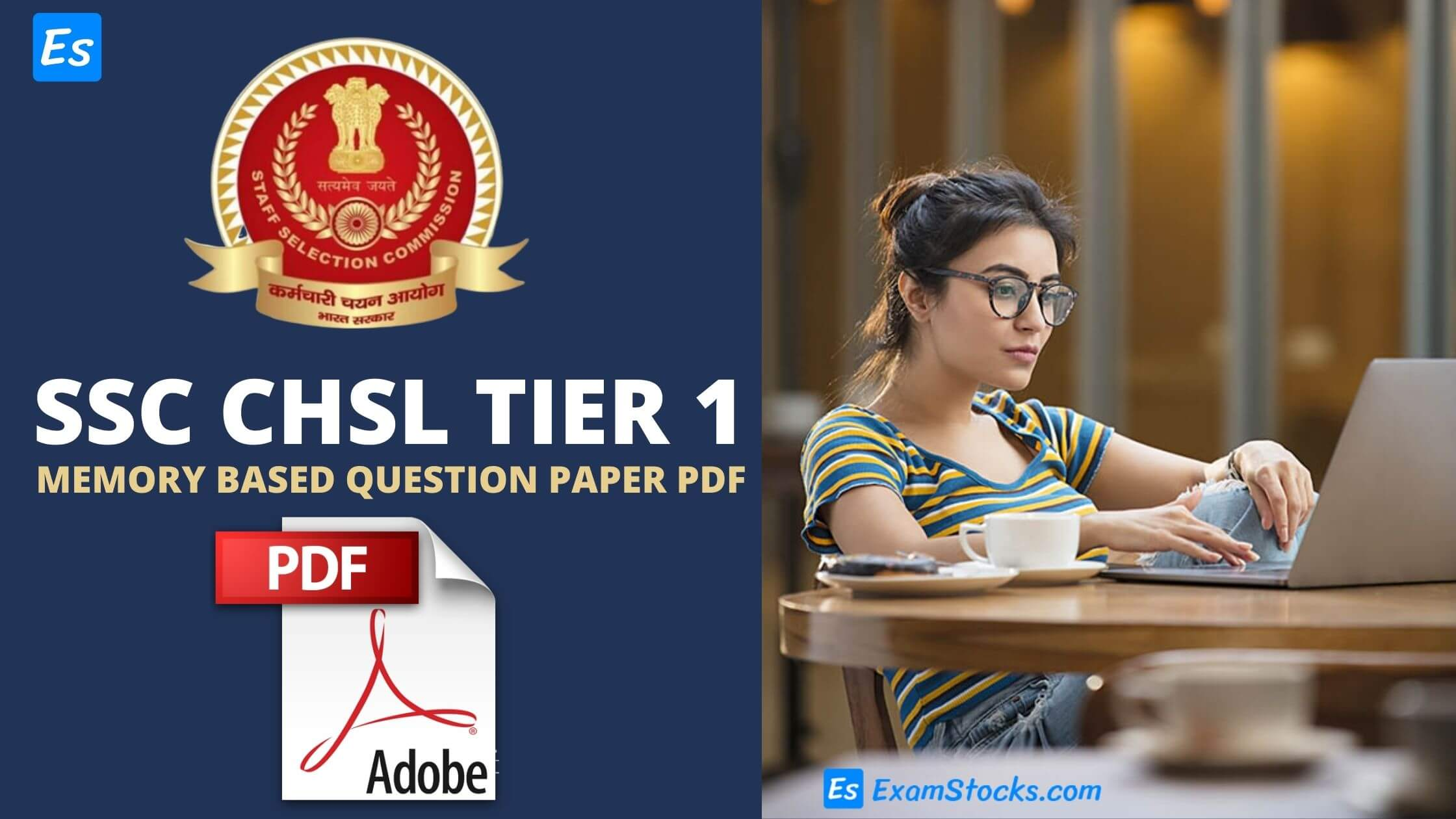 SSC CHSL Memory Based Question Paper PDF 2021 All Shifts