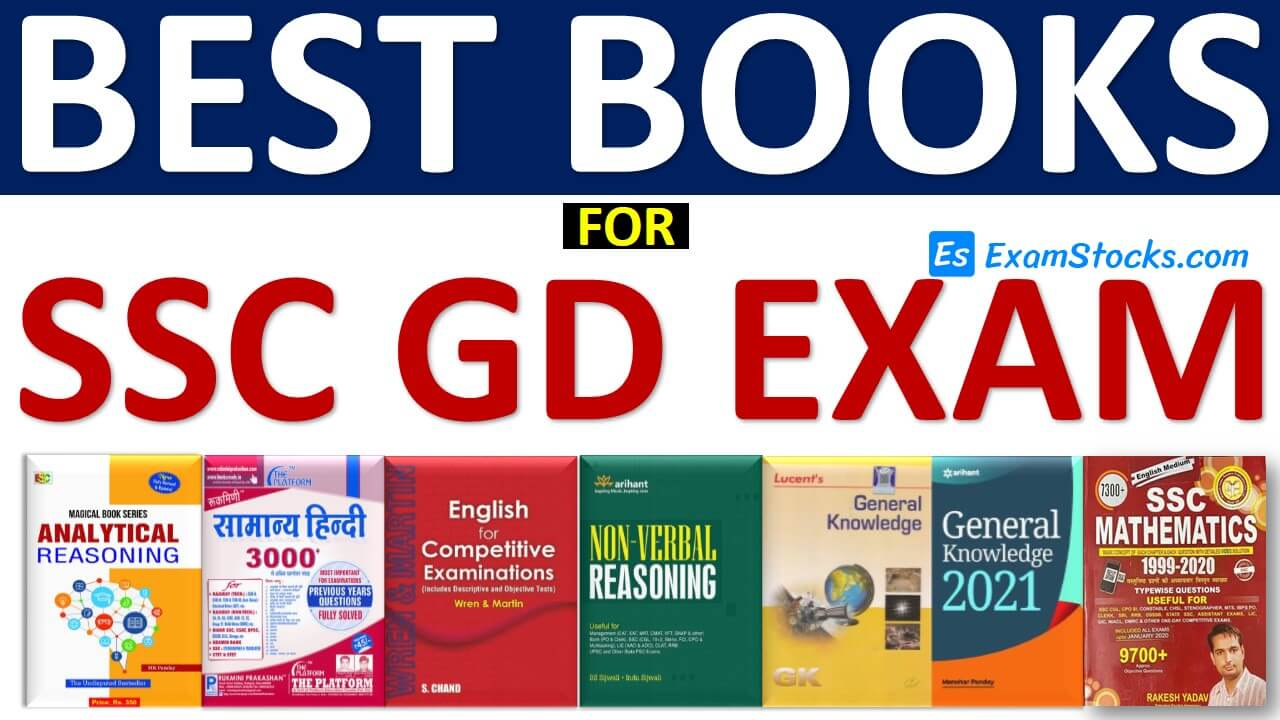 Best Books For SSC GD Constable